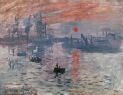Impression Rising Sun by Claude Monet