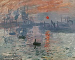 Impression Rising Sun by Claude Monet