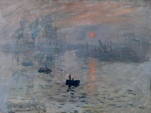 Impression, Rising Sun by Claude Monet