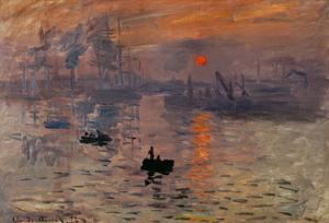 Impression, Soleil Levant by Claude Monet