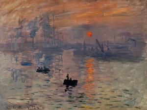 Impression, Soleil Levant by Claude Monet