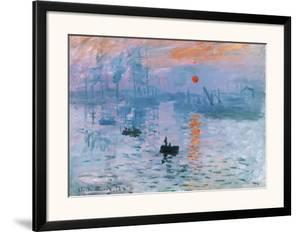 Impression Soleil Levant by Claude Monet