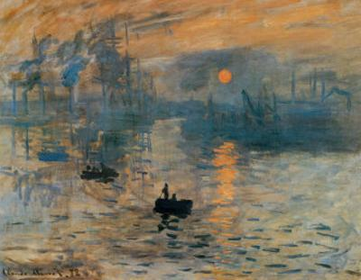 Impression, Sunrise, c.1872 by Claude Monet