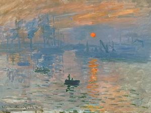 Impression, Sunrise (Impression, Soleil Levan), 1872 by Claude Monet