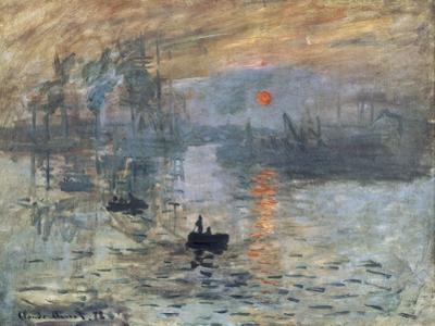 Impression, Sunrise by Claude Monet