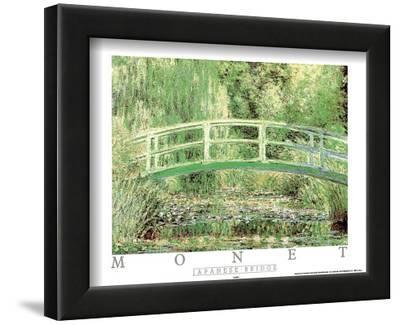 Japanese Bridge by Claude Monet