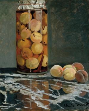 Jar of Peaches, 1866 by Claude Monet