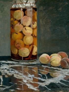 Jar of Peaches, Ca 1866 by Claude Monet