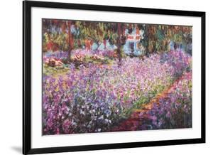 Jardin A Giverny by Claude Monet