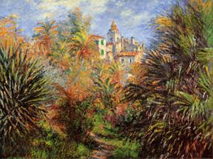 Jardin de Bordighera by Claude Monet