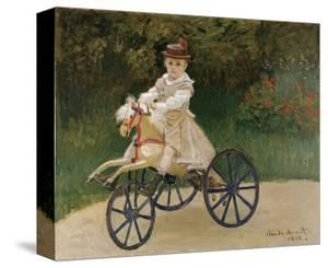 Jean Monet on his Hobby Horse, 1872 by Claude Monet