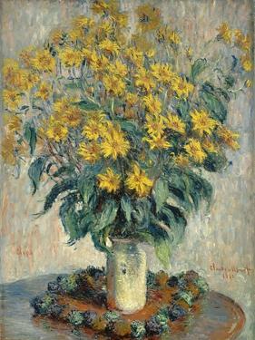 Jerusalem Artichoke Flowers, 1880 by Claude Monet
