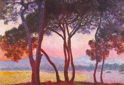 Claude Monet Juan Les Pins Art Print Poster