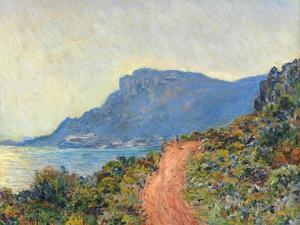 La Corniche near Monaco, 1884 by Claude Monet