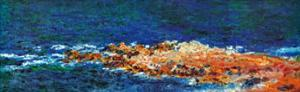 La Grande Bleue a Antibes, c.1888 (detail) by Claude Monet