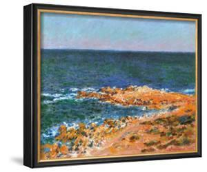 La Grande Bleue a Antibes, c.1888 by Claude Monet