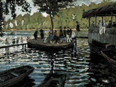 La Grenouillère by Claude Monet