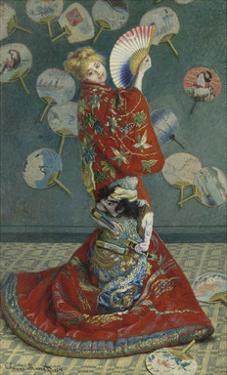 La Japonaise (Camille Monet in Japanese Costume), 1876 by Claude Monet