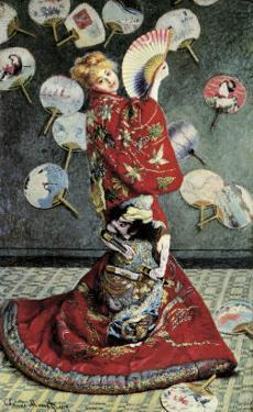 La Japonaise (Camille Monet in Japanese Costume) by Claude Monet