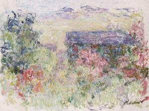 La Maison a Travers Les Roses, circa 1925-26 by Claude Monet