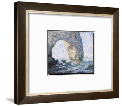 La Manneporte (Etretat), 1883 by Claude Monet