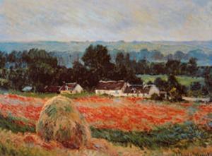 La Meule de Foin a Giverny by Claude Monet