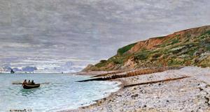 La Pointe De La Heve, 1864 by Claude Monet