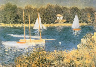 Lake Argenteuil Bassin D'Argenteuil by Claude Monet