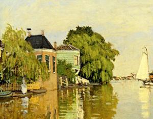 Landscape at Zaandam IV by Claude Monet