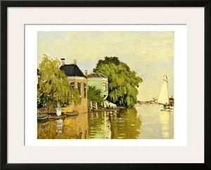 Landscape at Zaandam IV by Claude Monet