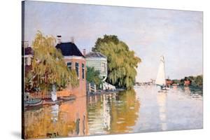 Landscape at Zaandan, c.1871 by Claude Monet