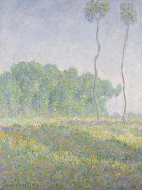Landscape in the Spring (Giverny) by Claude Monet