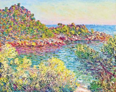 Landscape Near Montecarlo, 1883 by Claude Monet