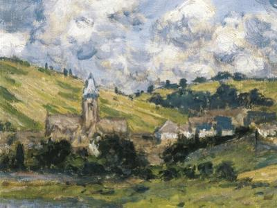 Landscape, Vetheuil by Claude Monet