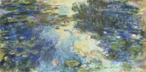Le Bassin aux Nympheas, c.1917-19 by Claude Monet