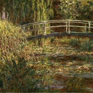 Le Bassin Aux Nympheas: Harmonie Rose by Claude Monet