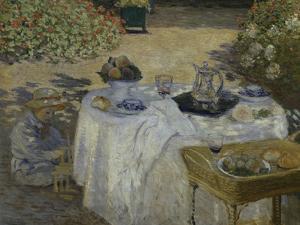 Le Dejeuner, c.1873 by Claude Monet