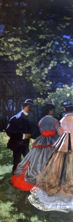 Le Dejeuner Sur L'Herbe, Left Panel, 1865 by Claude Monet