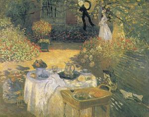 Le Dejeuner by Claude Monet