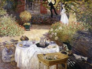 Le Déjeuner by Claude Monet