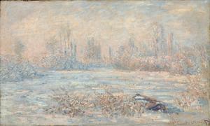 Le Givre, 1880 by Claude Monet
