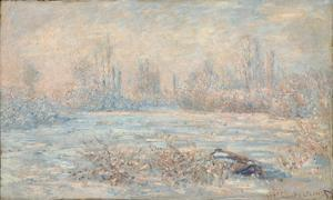 Le Givre, 1880 by Claude Monet