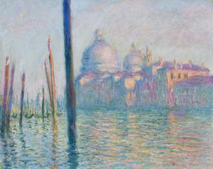 Claude Monet (Le Grand Canal, Venice) Art Poster Print