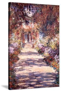 Le Jardin a Giverny by Claude Monet