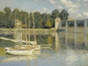Le pont d'Argenteuil by Claude Monet