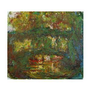 Le Pont Japonais a Giverny,1918-1924 Canvas, 89 x 100 cm Inv. 5092. by Claude Monet