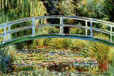 Le Pont Japonais a Giverny by Claude Monet