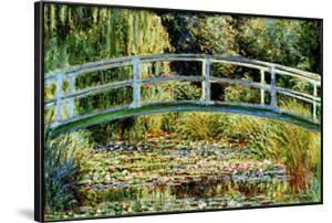 Le Pont Japonais a Giverny by Claude Monet