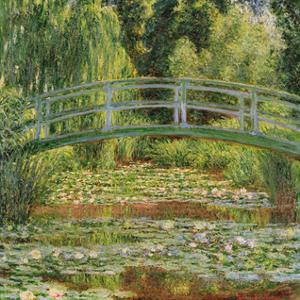Le Pont Japonais, Giverny by Claude Monet