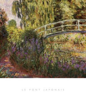 Le Pont Japonais by Claude Monet